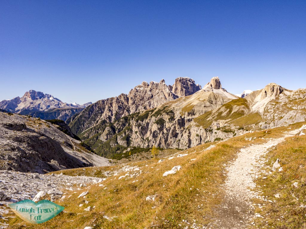 confusing split part tre cime di lavorado dolomites italy - laugh travel eat-2