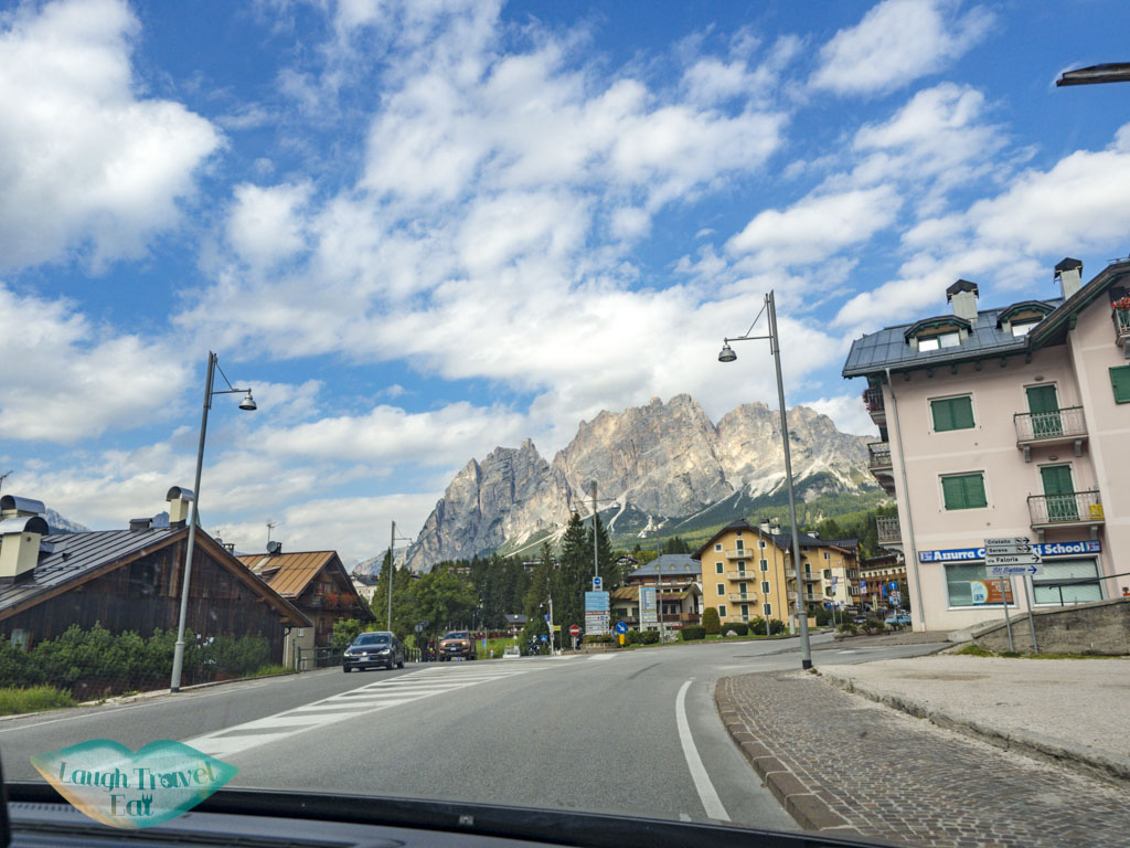 driving in dolomites italy - laugh travel eat