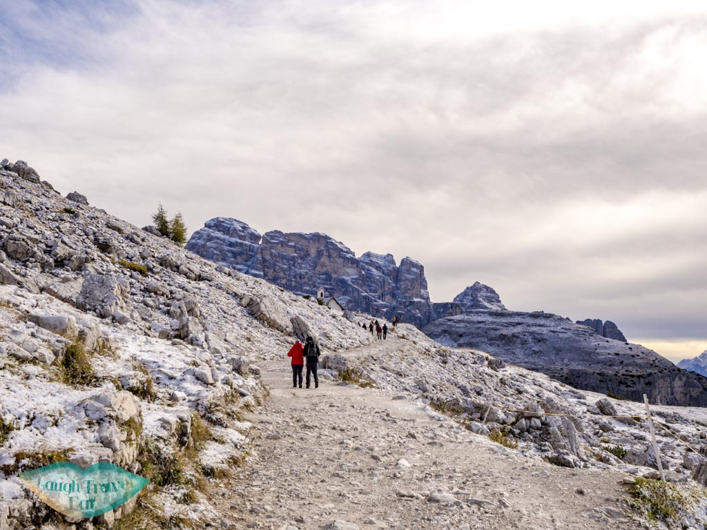 first section of tre cime di lavorado dolomites italy - laugh travel eat-2