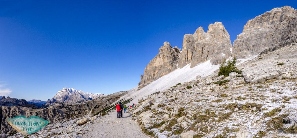 first section of tre cime di lavorado dolomites italy - laugh travel eat-3
