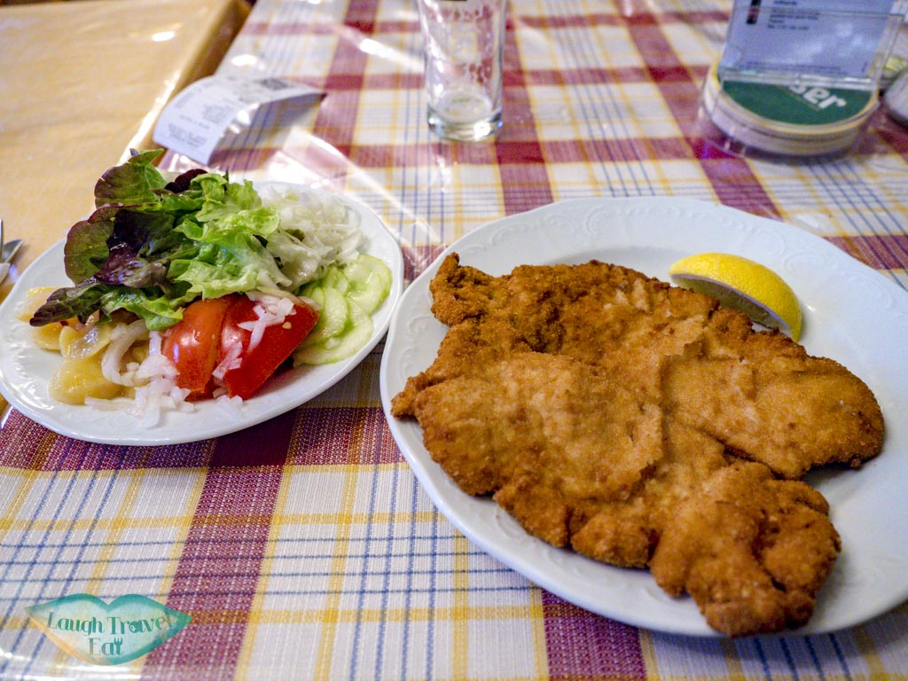 food at reinthaler gasthaus vienna austria - laugh travel eat