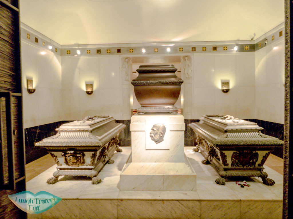 franz joseph and sisi Kapuzinergruft royal crypt vienna austria - laugh travel eat
