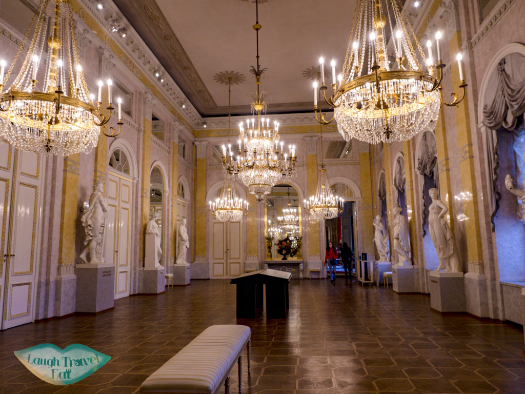 hall of the muses albertina museum vienna austria - laugh travel eat