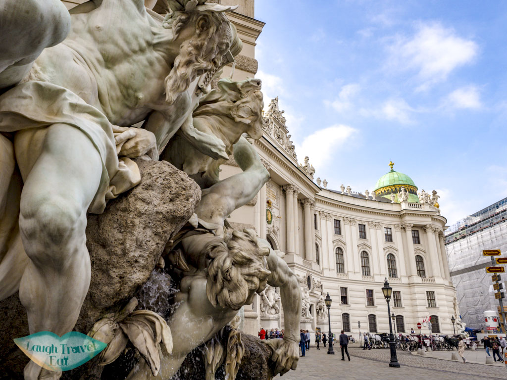 hofburg imperial palace vienna austria - laugh travel eat