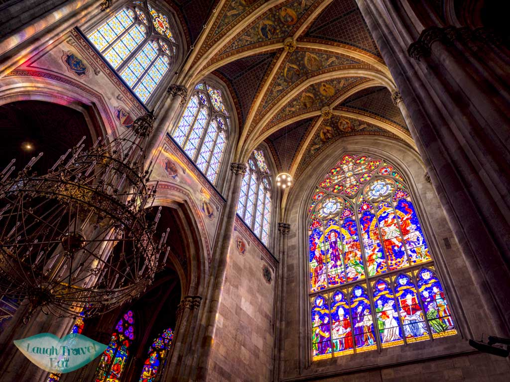 inside Votivkirche vienna austria - laugh travel eat