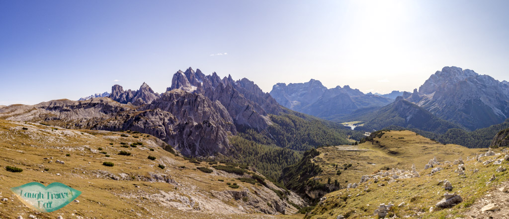 last pass panorama tre cime di lavorado dolomites italy - laugh travel eat