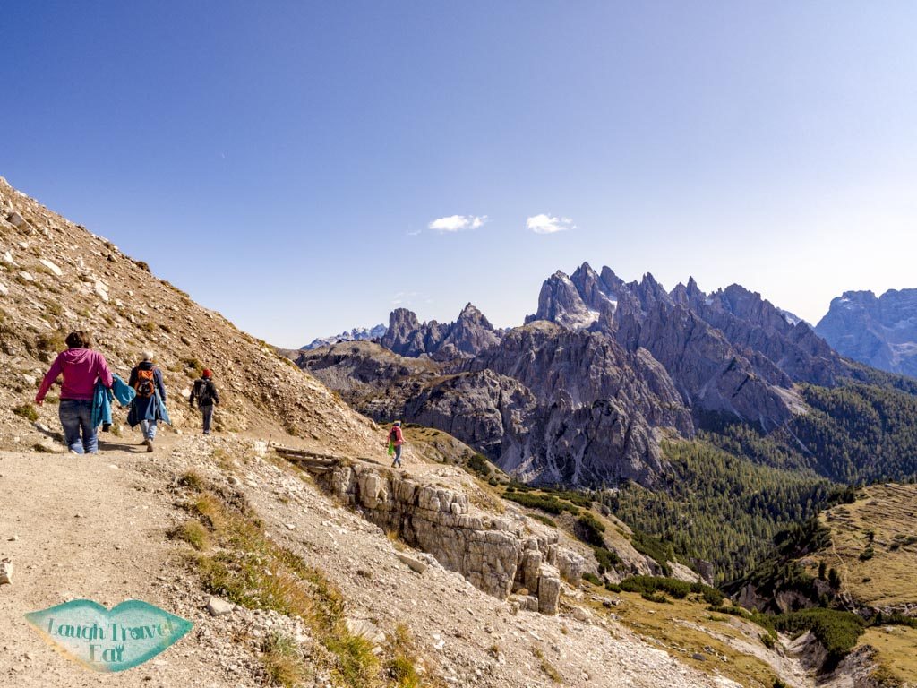 last stretch tre cime di lavorado dolomites italy - laugh travel eat-2