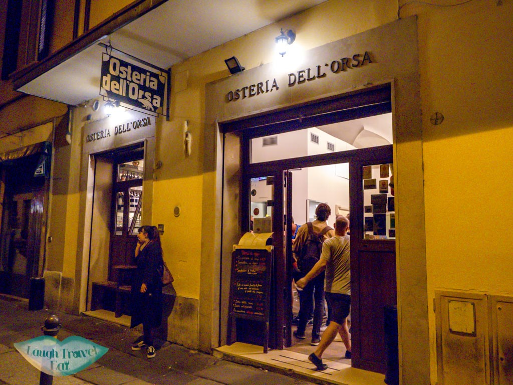 osteria dell'orsa bologna italy - laugh travel eat