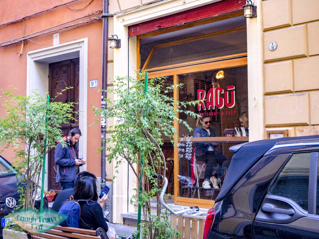 ragu restaurant bologna italy - laugh travel eat