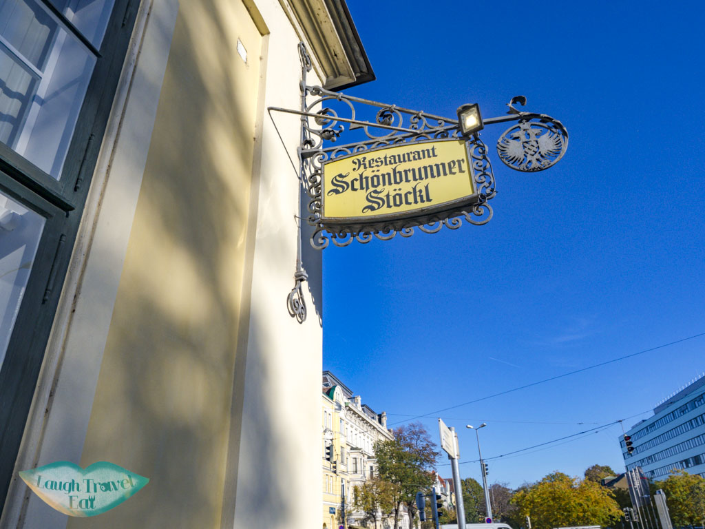 restaurant schobrunner stockl vienna austria - laugh travel eat