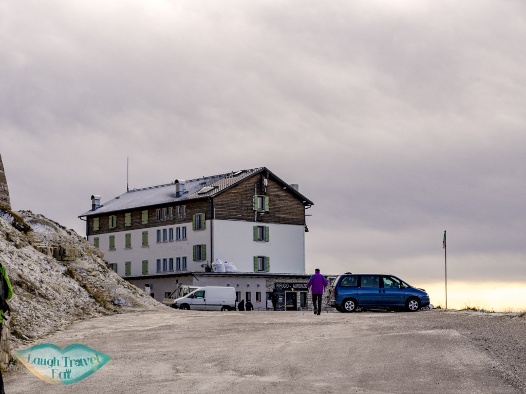 rifugio tre cime di lavorado dolomites italy - laugh travel eat