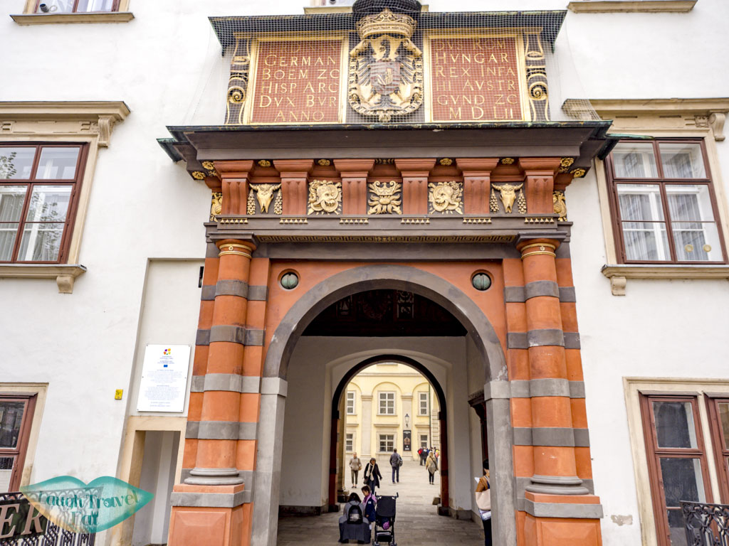 royal treasurary entrance vienna austria - laugh travel eat