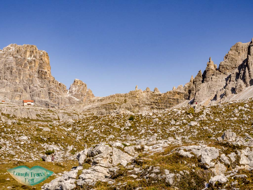 the other side tre cime di lavorado dolomites italy - laugh travel eat