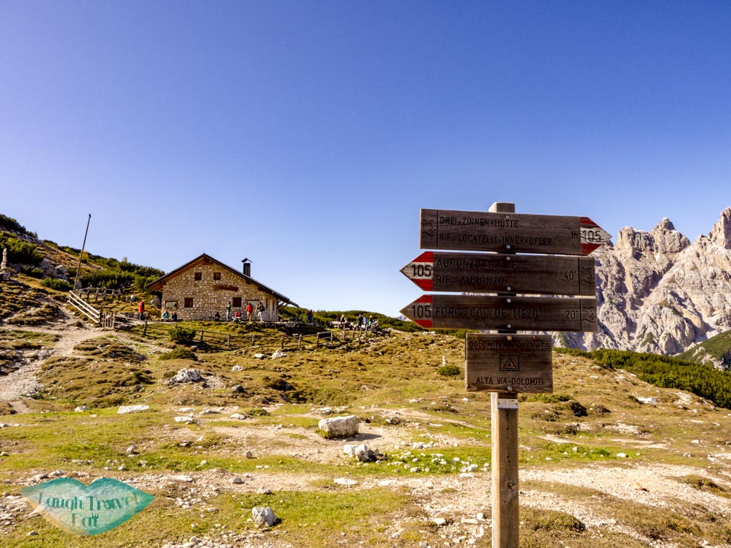 third hut tre cime di lavorado dolomites italy - laugh travel eat-2