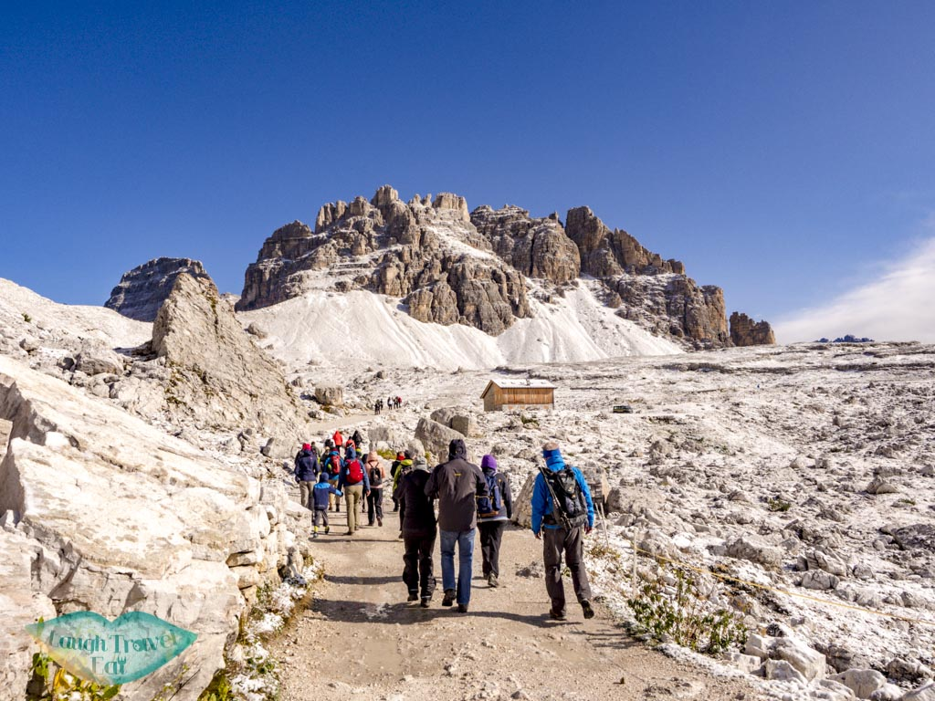 to second hut tre cime di lavorado dolomites italy - laugh travel eat-2