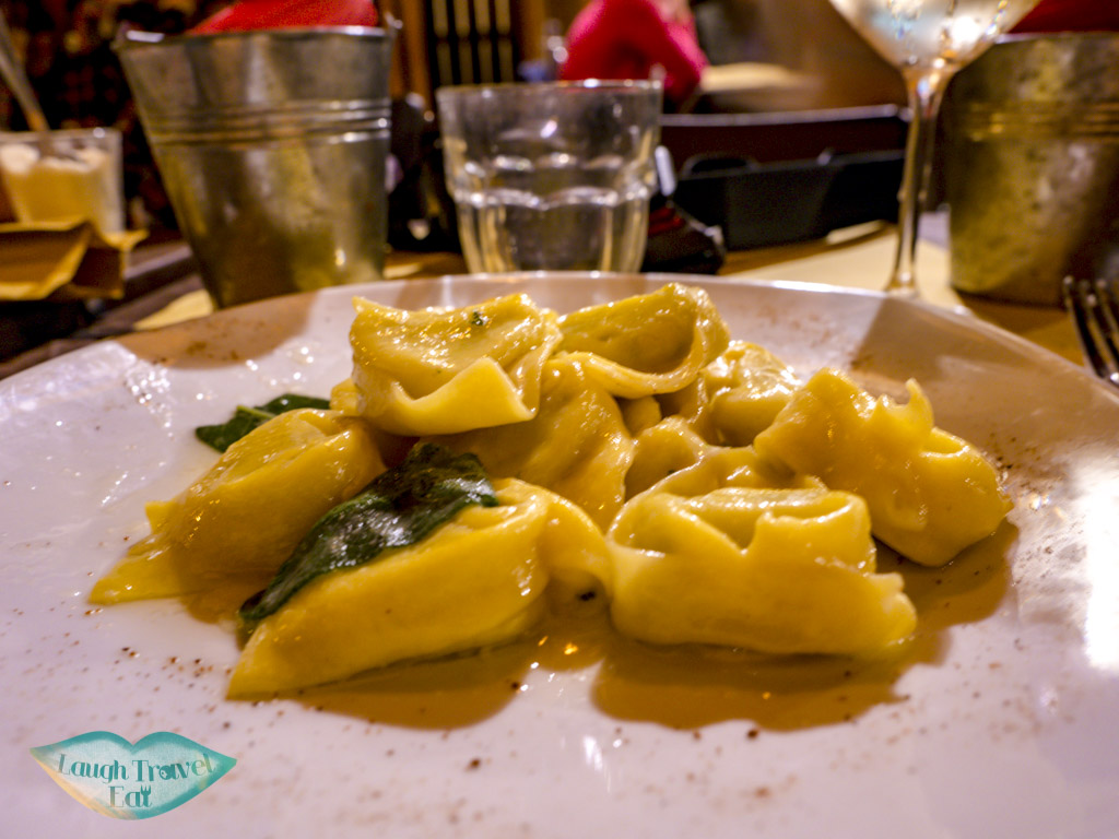 tortellini Caffè del Mercato bologna italy - laugh travel eat