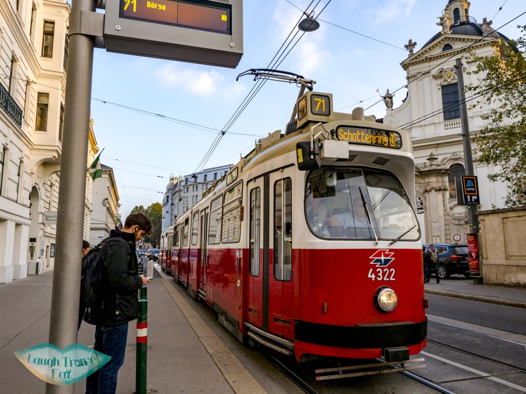 tram vienna austria - laugh travel eat