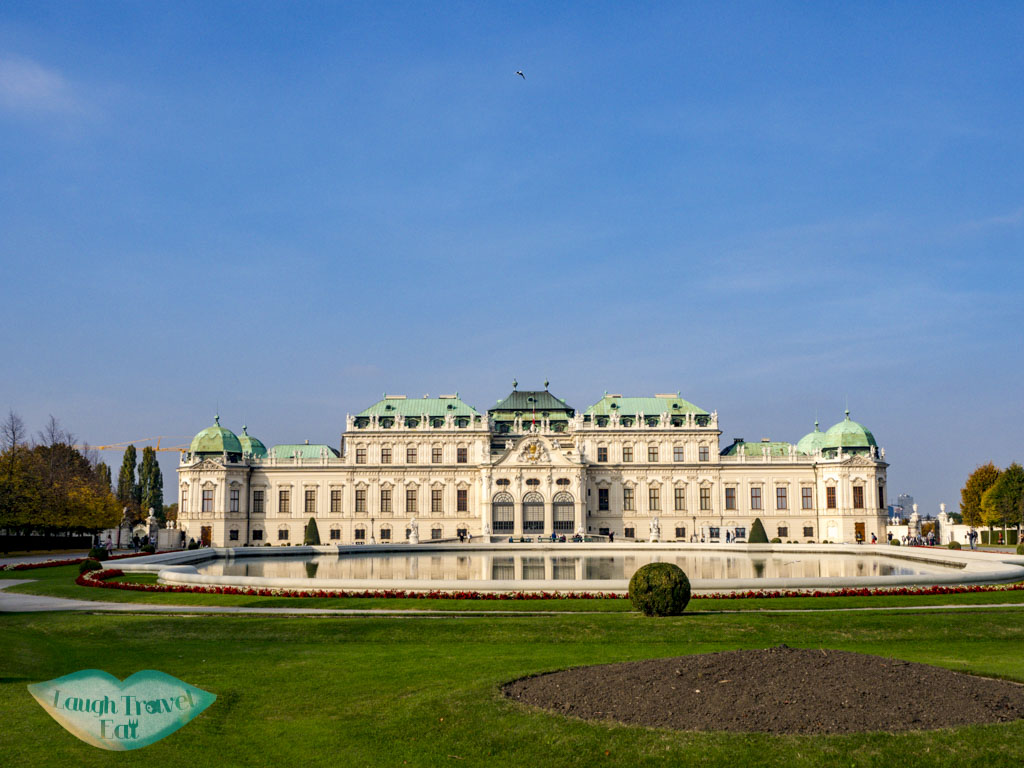 upper beveldere vienna austria - laugh travel eat