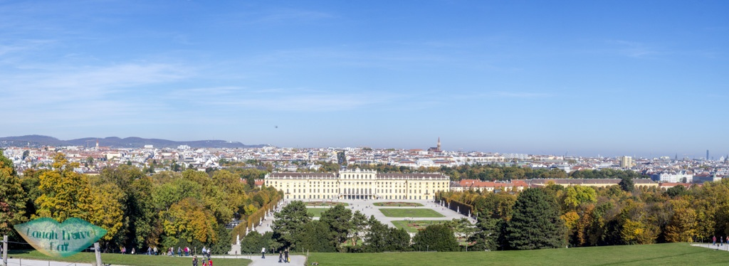 view of vienna from gloriette schobrunn palace vienna austria - laugh travel eat