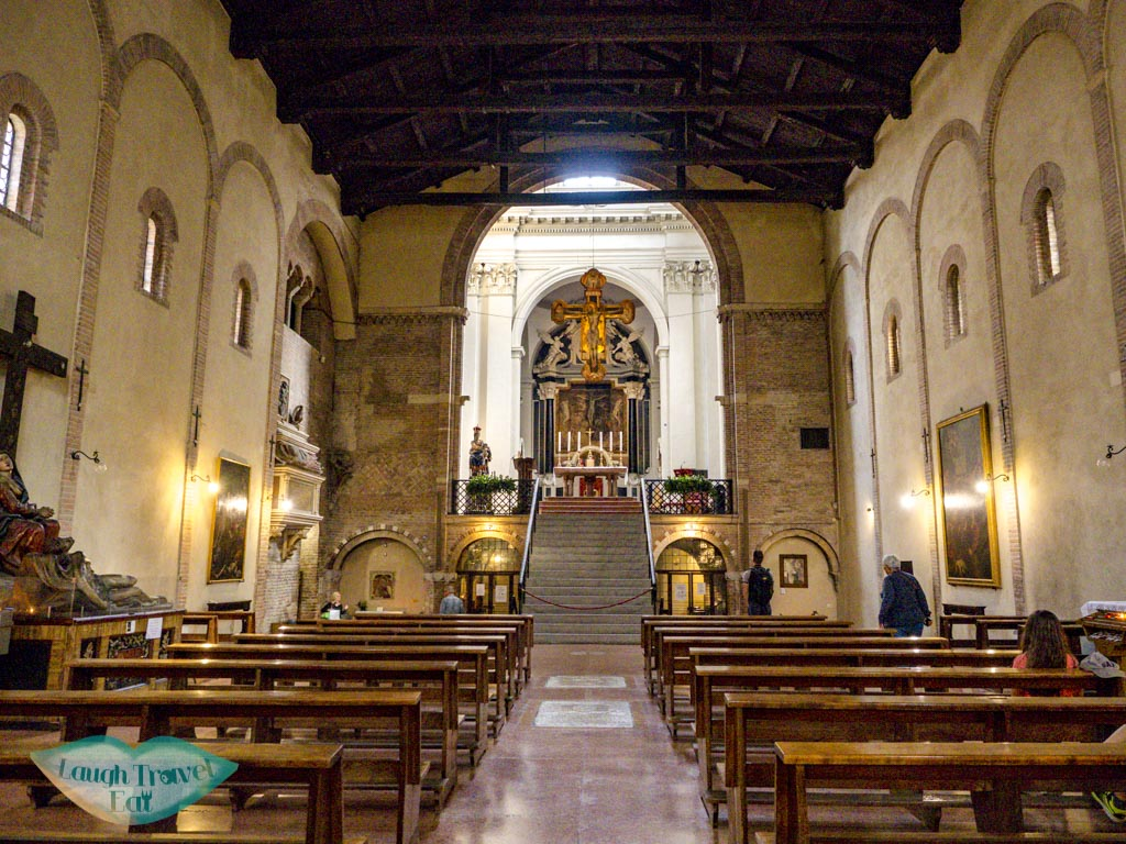 Church of the Crucifix santo stefano bologna italy - laugh travel eat