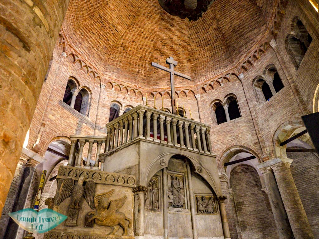 Church of the Holy Sepulchre santo stefano bologna italy - laugh travel eat