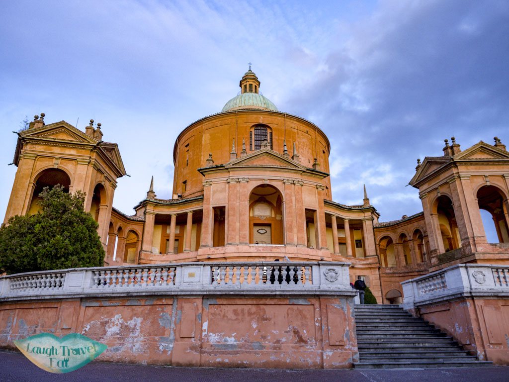Sanctuary of the Madonna di San Luca bologna italy - laugh travel eat