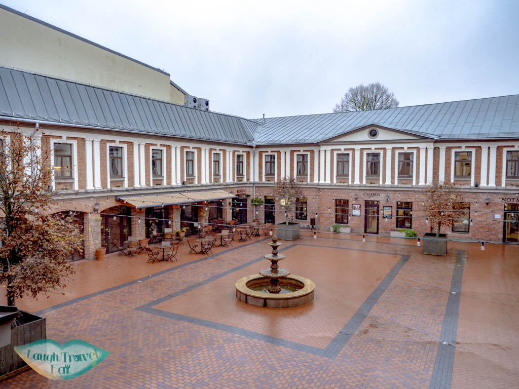courtyard by art hotel roma liepaja latvia - laugh travel eat