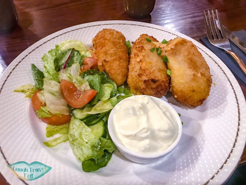 food at hot potato liepaja latvia - laugh travel eat