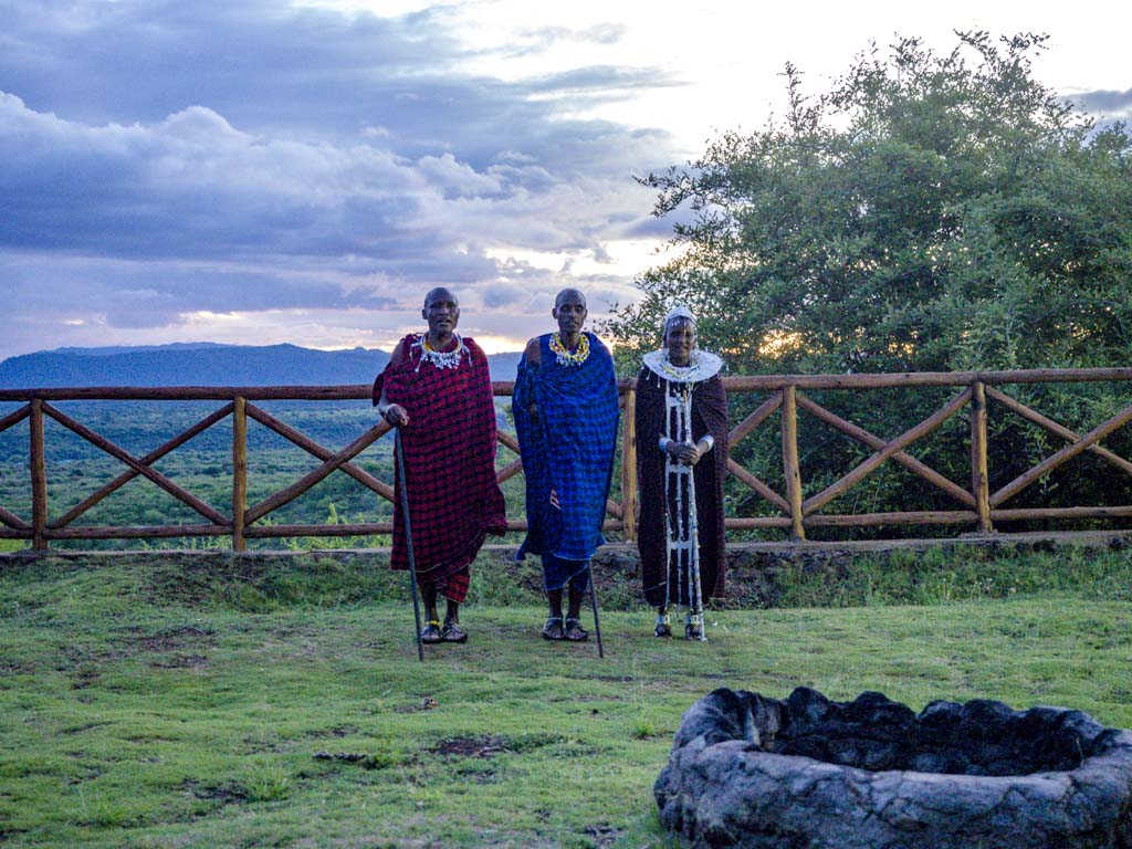 maasai dance escarpment luxury lodge tanzania africa - laugh travel eat