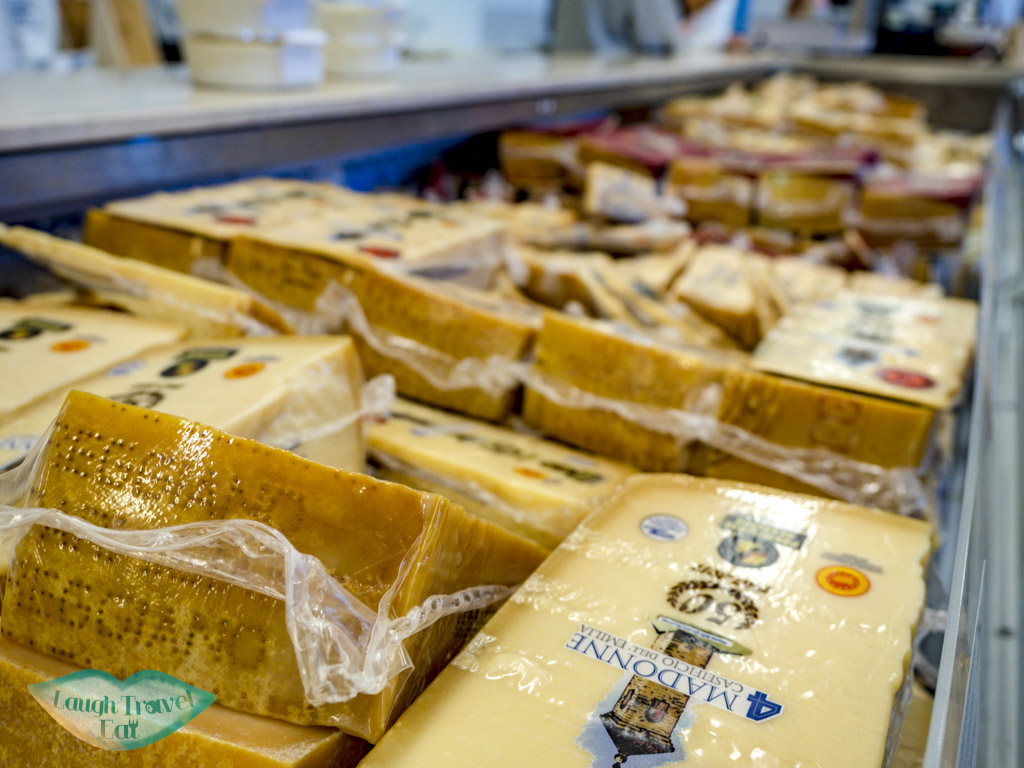 packaged cheese 4 madonna modena italy - laugh travel eat
