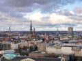 riga old town view from science and culture riga latvia - laugh travel eat