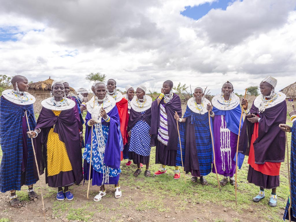 selela maasai village tanzania africa - laugh travel eat