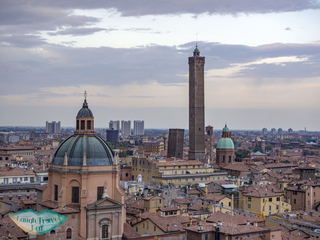 the two towers bologna emilia romagna italy - laugh travel eat