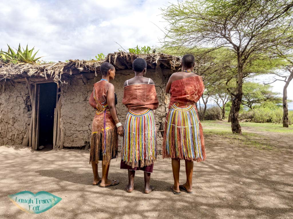 women dress datoga village tanzania africa - laugh travel eat