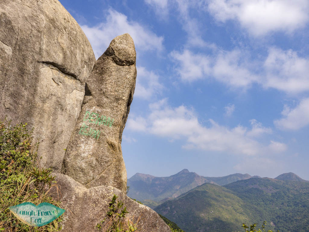 Penis rock nui po shan hong kong - laugh travel eat
