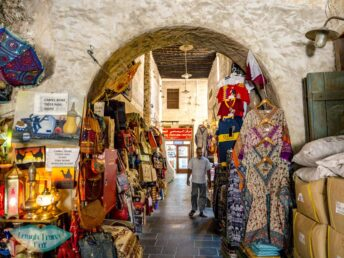 Souq Waqif Doha Qatar Middle East - laugh travel eat