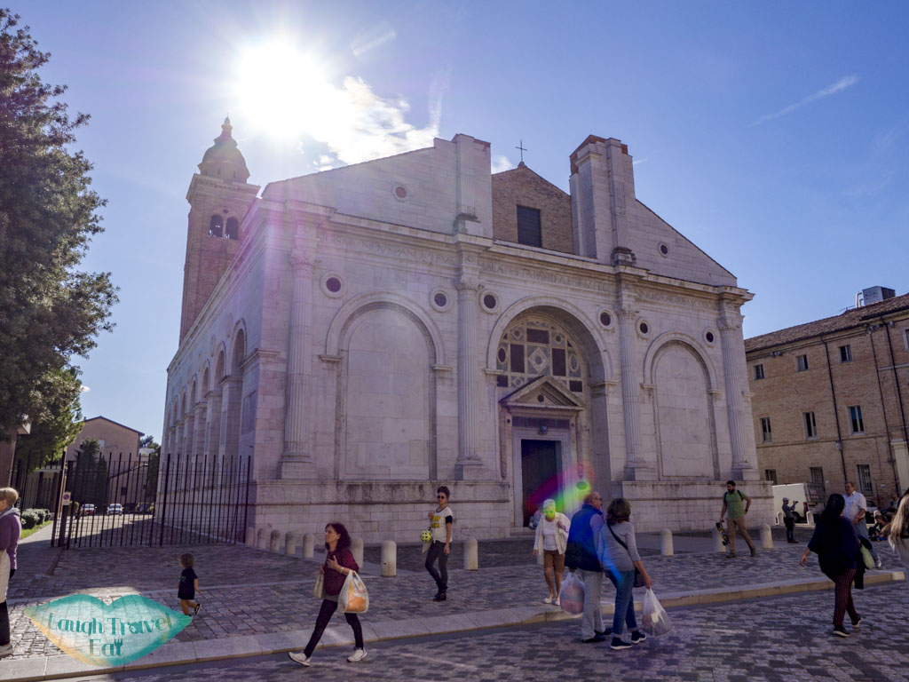 Tempio Malatestiano Rimini emilia romagna italy - laugh travel eat