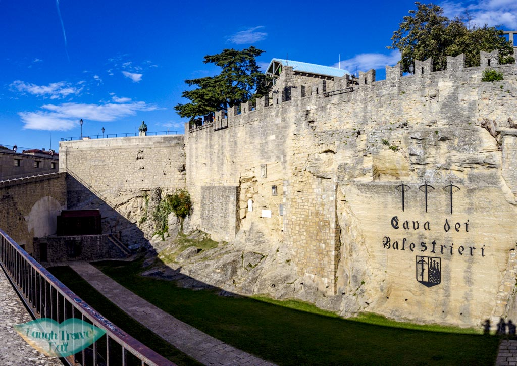 crossbow quarry san marino italy - laugh travel eat