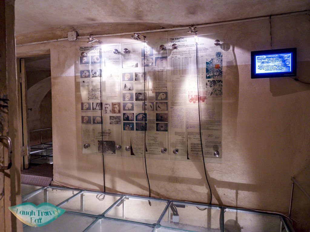 execution room of occupation and freedom fights vilnius lithuania - laugh travel eat