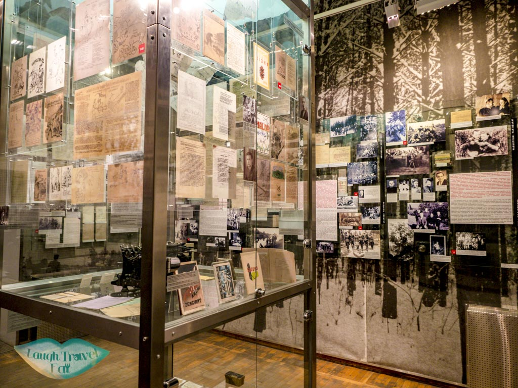 exhibition musem of occupation and freedom fights vilnius lithuania - laugh travel eat