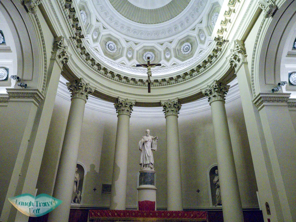 inside cathedral san marino italy - laugh travel eat