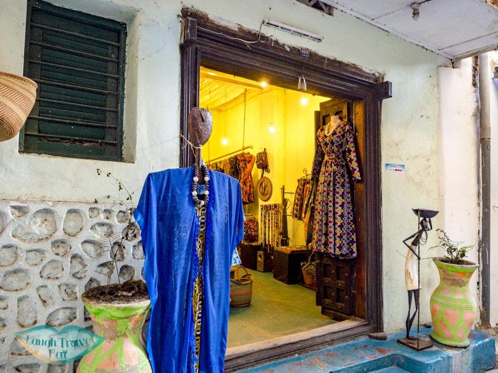 khanga clothings stone town zanzibar tanzania - laugh travel eat