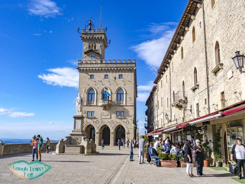 librety square san marino italy - laugh travel eat