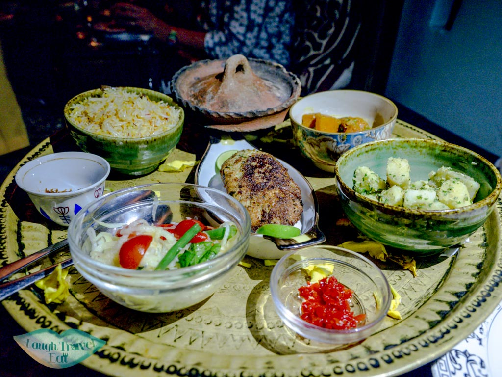 mains dinner emerson on hurumzi stone town zanzibar - laugh travel eat