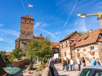 none royal side Imperial castle nuremberg germany - laugh travel eat