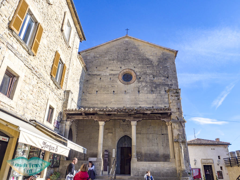 san francesco church san marino italy - laugh travel eat