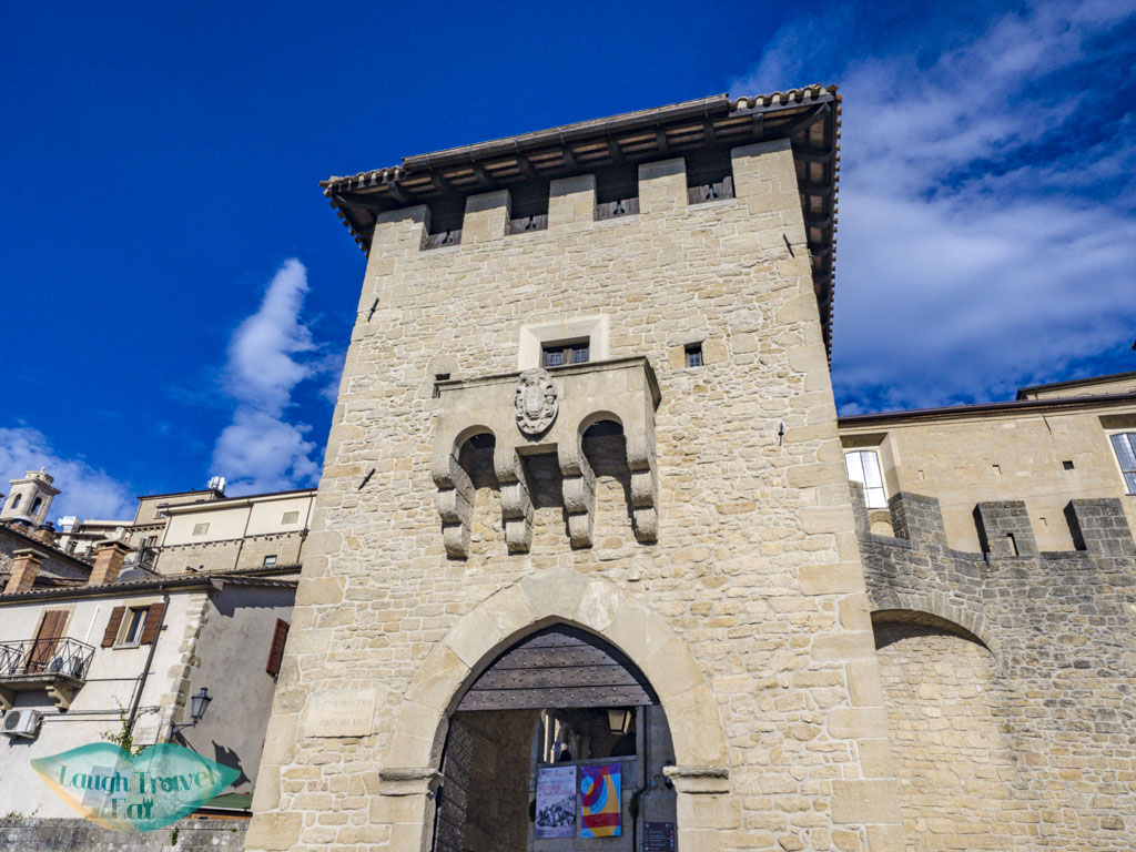 san francesco gate san marino italy - laugh travel eat