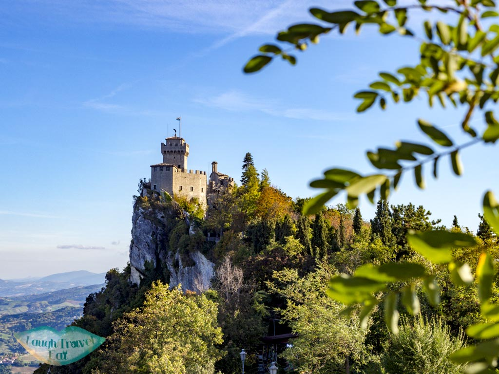 second tower san marino italy - laugh travel eat