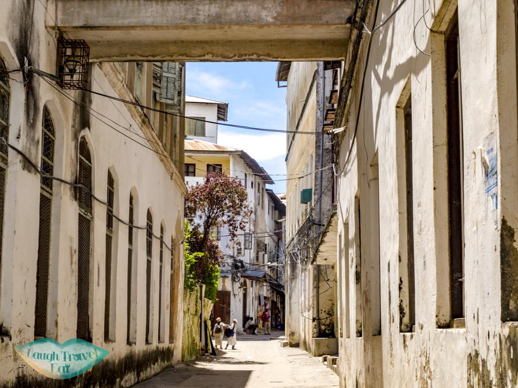 streets of stone town zanzibar - laugh travel eat