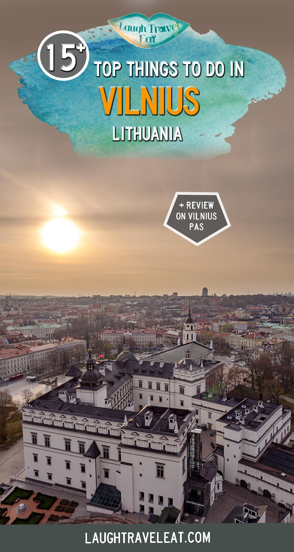 The capital of Lithuania, Vilnius is an emerging city for visitors with its historic buildings and art scenes. It has the second largest medieval old town in Europe and you can also cross the river Vilna to a brand new republic created by artists. Not sure if you can spend a whole weekend or more in Vilnius? Here are enough things for you to do: #Vilnius #Baltic #Europe